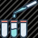 dropper, laboratory, observe, patholology, pharmaceutical, pipette, testing