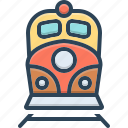 engine, rail, railway, speed, subway, train, tram