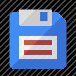 disk, floppy, media, save, storage icon