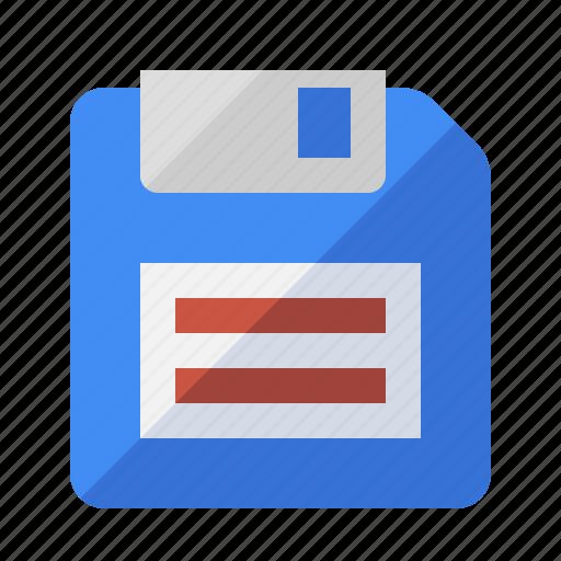 disk, floppy, guardar, media, save, storage icon