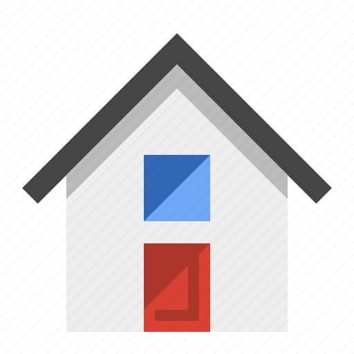 architecture, building, home, house, real estate, residence icon