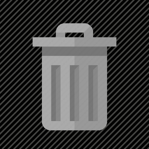 delete, garbage, remove, trash, wastebin icon