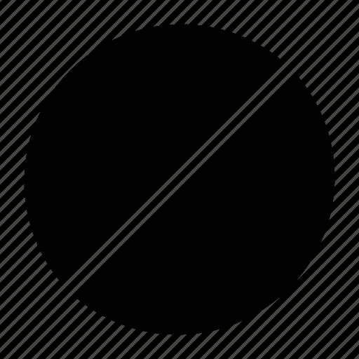 block, cancel, conflict, forbidden, prohibition icon