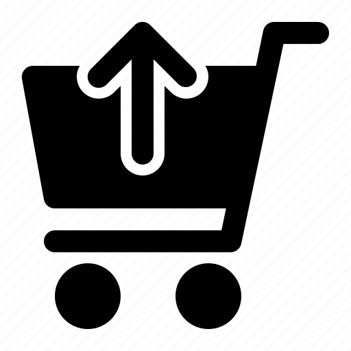 Cart, shopping, trolley, up icon - Download on Iconfinder