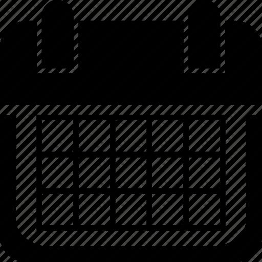 Calendar, calendar month, date, month, schedule icon