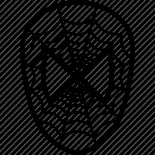 man, mask, spider, spiderman icon
