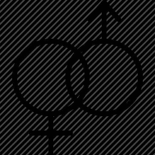 Gender, heterosexual, sex, unisex icon - Download on Iconfinder