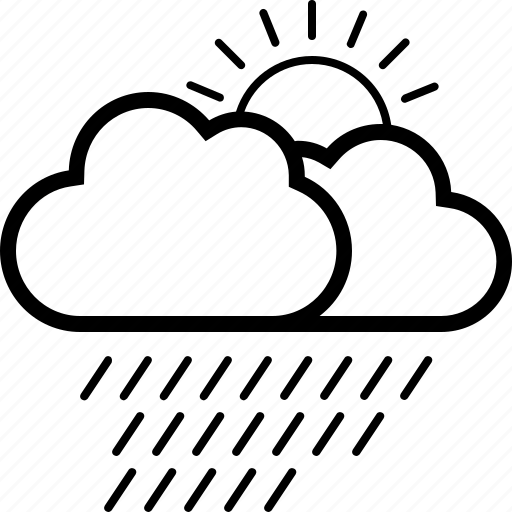 Cloud, forecast, rain, weather icon - Download on Iconfinder
