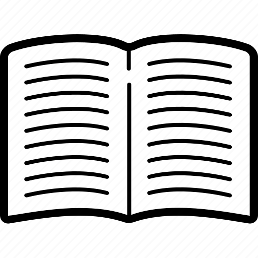 book, magazine, open, textbook icon