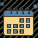 calendar, miscellaneous, schedule, timetable icon