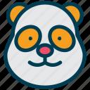 miscellaneous, bear, face, animal, creature, mammal