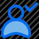 user, check, avatar, profile