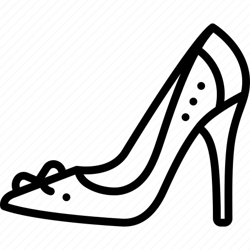 Female, footwear, glamour, heel, high heel shoe, sandal, shoe icon - Download on Iconfinder