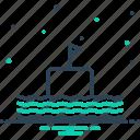 cruise, float, nautical, pigboat, sailing boat, submarine, vessel