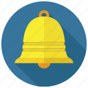 alert, bell, ring icon
