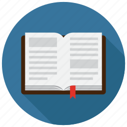 book, library, study icon