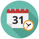 calendar, schedule, timer icon