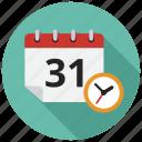 calendar, schedule, timer