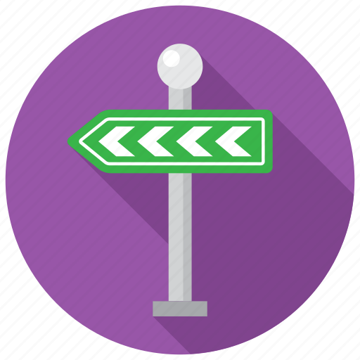 direction, navigation, road, way icon