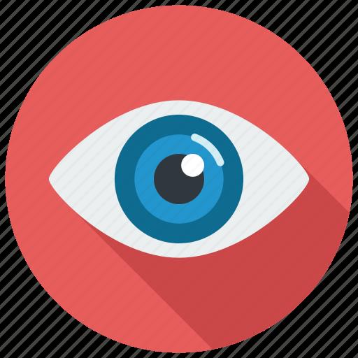 eye, eyes, vision icon