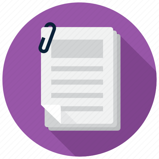 documents, office, paper icon
