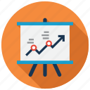 business, chart, report, statistics icon
