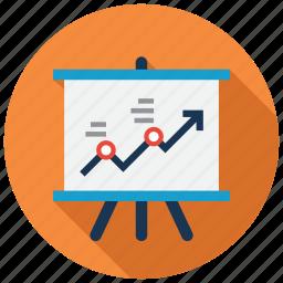 business, chart, report, statistics icon