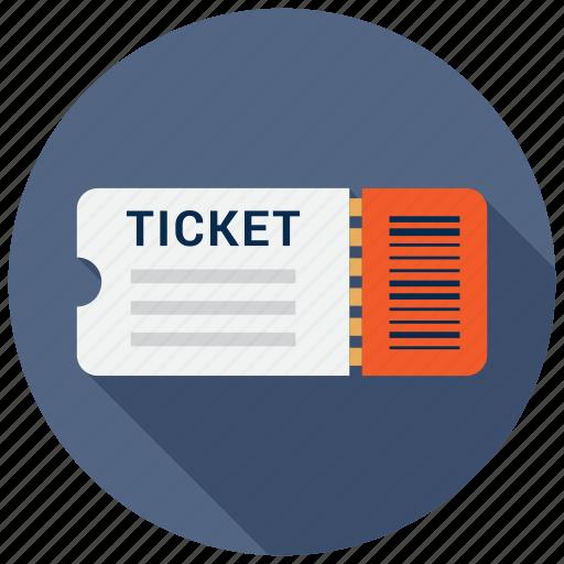 cinema, fare, ticket icon