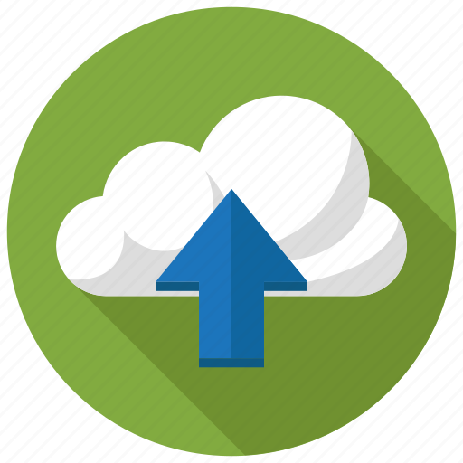 cloud, network, upload icon