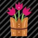 farming, flower, gardening, nature