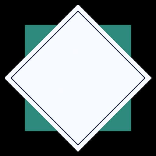 creative, shape, squere icon