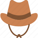 cap, cowboy, hat icon