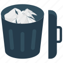 bin, cancel, delete, garbage, recycle, remove, trash icon icon