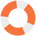life, lifebuoy, lifeguard, safety, saver icon icon