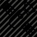 communication, media, news, satellite icon icon