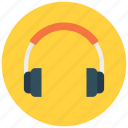 head phone, listen, music, song icon icon