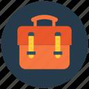 bag, bag with handle, briefcase, folio case, suitcase icon icon