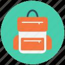 adventure, bag, bagpack, luggage icon icon