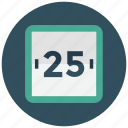 calander, date, day, month, plan, time table, timetable icon icon