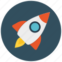 mission, promotion, rocket, space icon icon