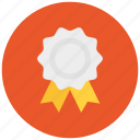achievement, award, badge, best, first, medal, ribbon icon icon