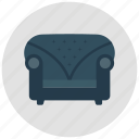 chair, comfy, seat, sofa icon icon