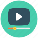 media, play, video, youtube, youtubers icon icon