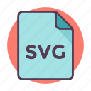 documents, extension, file, file format, svg file icon, svg icon icon
