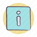 details, info, information icon icon