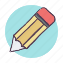 edit, pencil, schoole icon, write icon