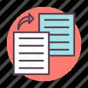 copy, document, duplicate, files icon icon