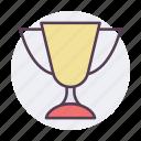 achievement, award, badge, medal, reward, star, trophy icon icon