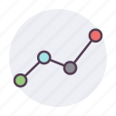 analysis, analytics, diagram, finance, graph, report, statistics icon icon