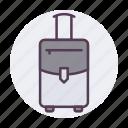 bag, baggage, briefcase, luggage, transport, travel, travel icon icon